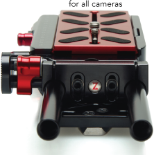 Zacuto VCT Pro Baseplate for use with Red, Sony, Canon, Panasonic, Blackmagic & Arri cameras