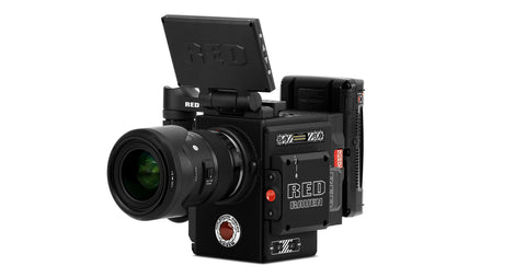 Red Raven Package 4.5k Resolution with Canon EF Mount, Sigma Lens, and case
