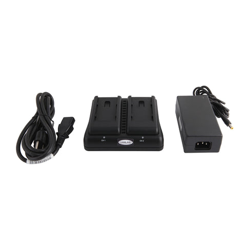 Camlast Digital Dual Battery Charger for Sony NP-970