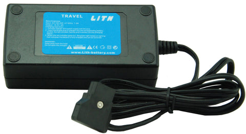Lith Travel Battery Charger for Red, Arri Alexa/Amira, Sony & Blackmagic cameras