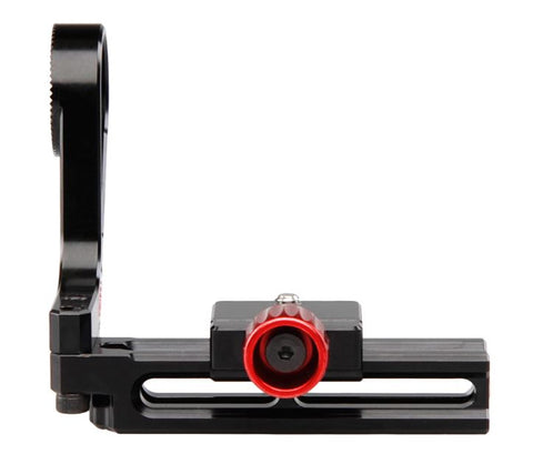 Zacuto Quad Rail (EVF Mount for Axis Mini) for use with Red, Sony, Canon, Panasonic, Blackmagic & Arri cameras