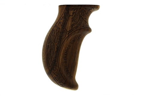 Global-Dynamics United (GDU) Walnut Grip for DSMC2 Side Handle 01