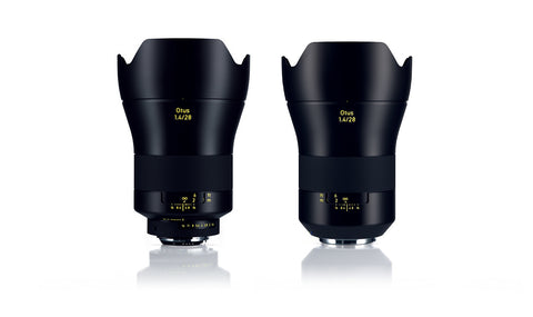 ZEISS 28mm f/1.4 Otus Distagon T* Lens Both Canon and Nikon Mount