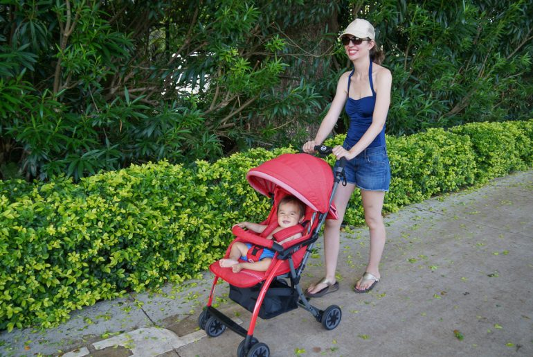 Marcie in Mommyland Tre.9 Stroller Review