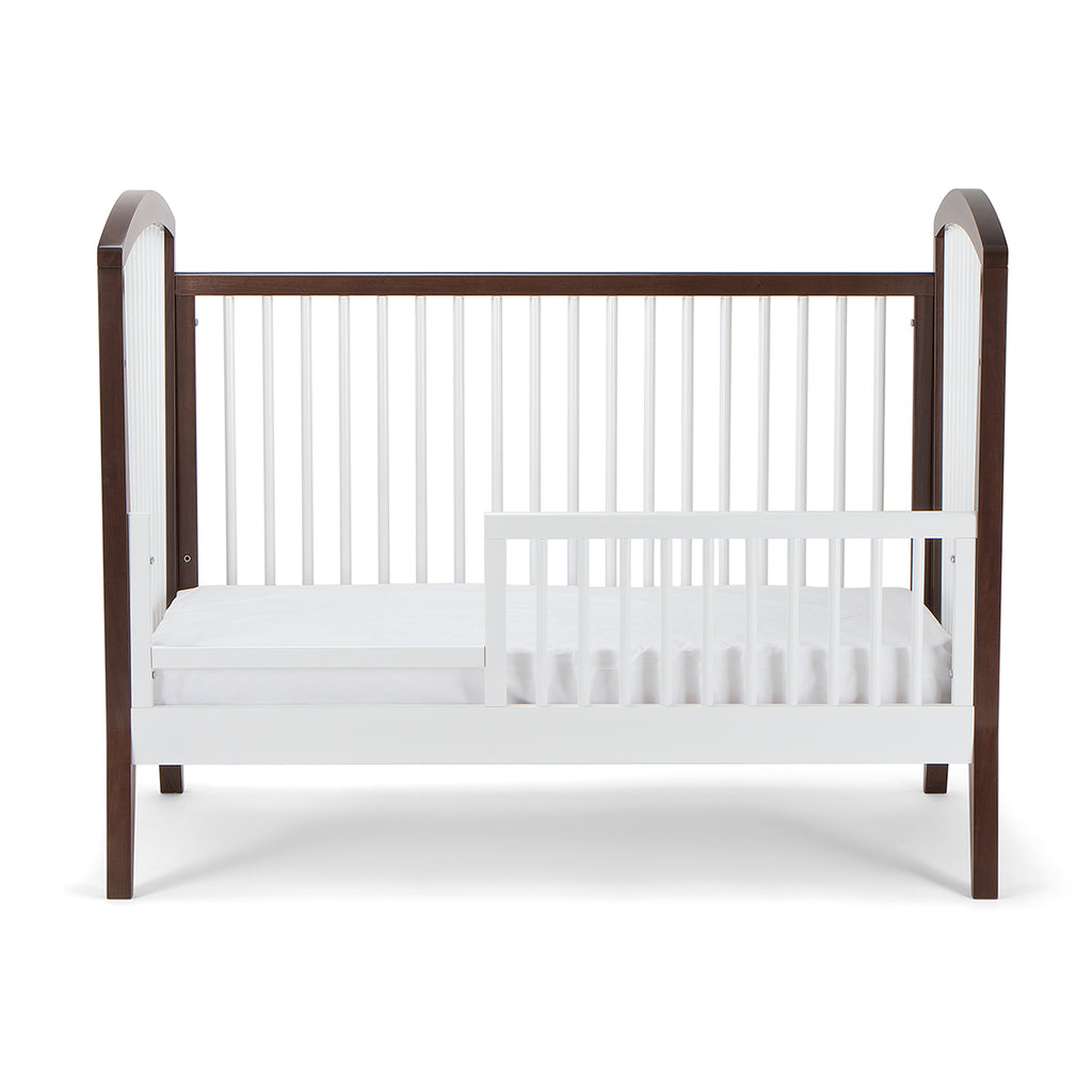 crib cribs baby convertible low modern l images grey painted