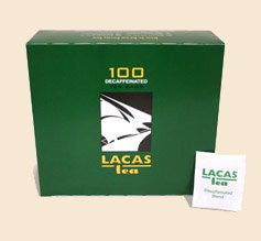 Lacas Coffee Company Hot Tea Decaffeinated