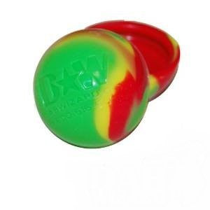 Rasta Balls Wax Silicone Non Stick Container for Oil Crumble Honey