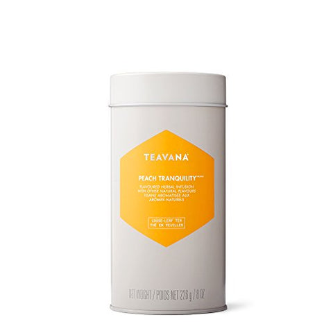 Peach Tranquility Tea-filled Tin by Teavana