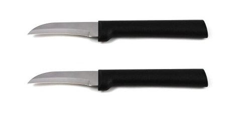Rada Cutlery Granny Paring Knife, W200/2, Black Handle, Pack of 2