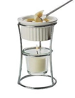Amco Butter Warmer with Ceramic Ramekin