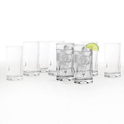 Dailyware Impressions Glass Coolers (Set of 8)