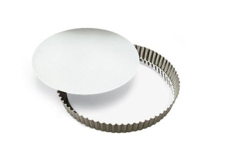 "Browne (80126640) 11"" Fluted Quiche Pan"