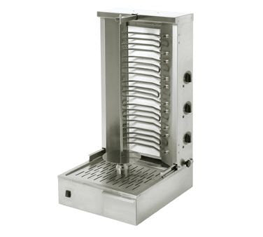 Equipex GR 80E 88-Lb Gyro Grill W/ 2-Independent Control Zones, 5-Heat Element, 208/240V-GR 80E