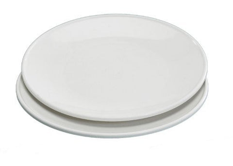 Nordic Ware 10 Inch Microwave Dinner Plates, (Set of 4)