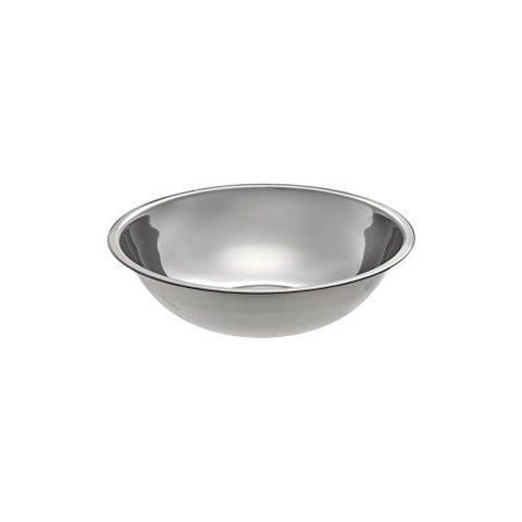 "Small Stainless Steel Mix and Prep Bowl 9.6"" Diameter - Holds 2.75 Quarts"