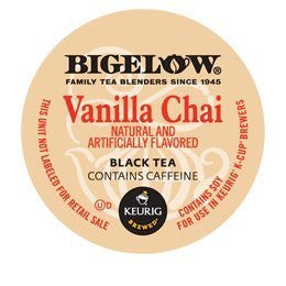 Bigelow Vanilla Chai Tea K-Cups for Keurig Brewers -24 Count