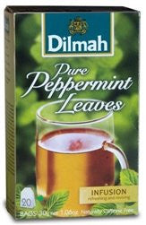 Dilmah Pure Peppermint Tea (20 Individually Wrapped Tea Bags)