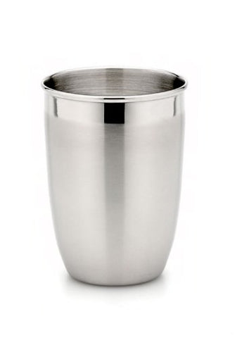 StainlessLUX 71103 Two-tone Harmony Stainless Steel Tumbler (12 Oz) - Fine Drinkware for Your Home