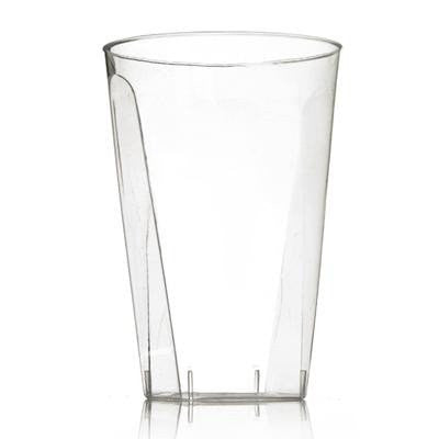 Clear 10 Oz Plastic Square Tumblers , Case of 480