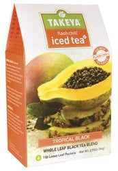 Flash Chill Iced Tea - Tropical Black, 2.96 oz