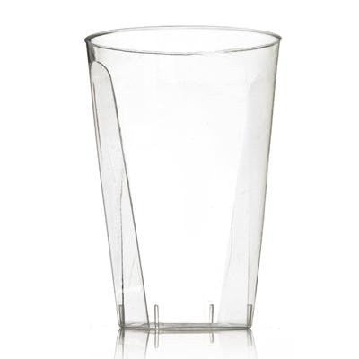 Clear 7 Oz Plastic Square Tumblers/Case of 720