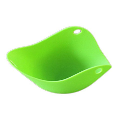 Peoria 2pcs Silicone Egg Poacher Cups Poaching Pods for Cooking Perfect Poached Eggs