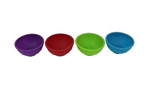 Kitchen Collection Silicone Pinch Bowls - Assorted Colors 08084