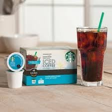 Starbucks Sweetened Iced Coffeee Keurig K-cups
