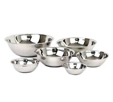 Excellante 1 2 quart Mixing Bowl, Heavy Duty, Stainless Steel, 22 Gauge, NA, NA