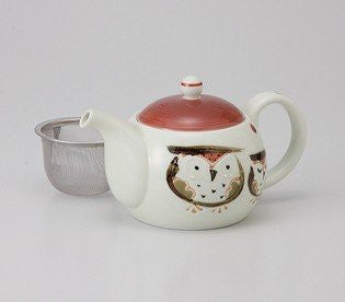 Saikai Pottery Hand made Lauging Owl teapot (Japanese Teapot Kyusu) 45844 from Japan