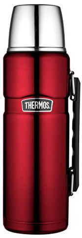 Thermos 1.2 Litre Stainless Food Flask, Red