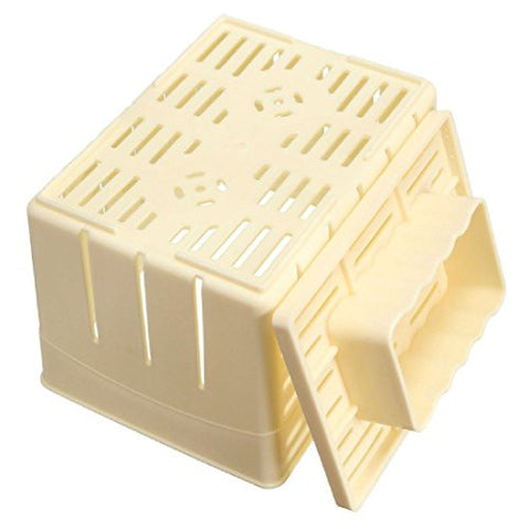 WHOSEE Plastic Tofu Maker DIY Soy Pressing Mould Box Press Mold Kit Set