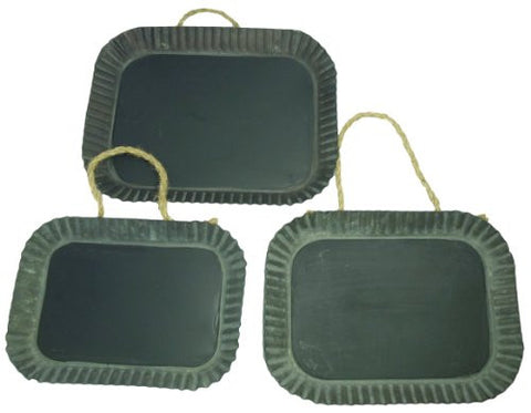 Tart Pan Hanging Blackboard Set of 3