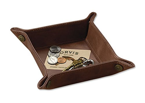 Orvis Dresser-top Leather Tray