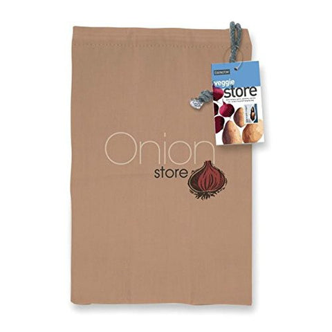 Onion Storage Bag To Store Your Onions and Keep Them Fresh (Pack of 2)