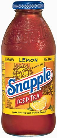 Snapple Iced Tea, Lemon, 16 oz