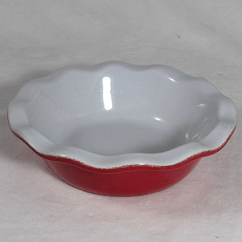 EMILE HENRY 14CM Small Tart Pie Dish (Cerise Red)