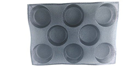 1 PCS 8 Loaves Non Stick Silicone Baking Mold Perforated Bun Bread Mould Top New 430*300mm(16.93''x11.81'')