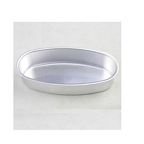 Dealglad Aluminum Alloy Oval Cheese Cake Pan Cheesecake Pudding Mold Toast Bakeware Baking Cake Mould