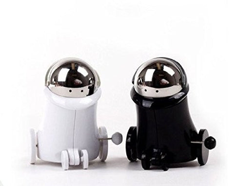 Wind up Salt and Pepper Shaker (Robot Birds)