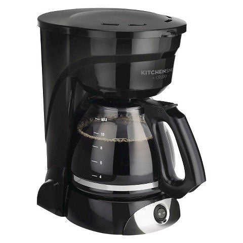 Kitchen Smith by BELLA 12 Cup Manual Coffee Maker