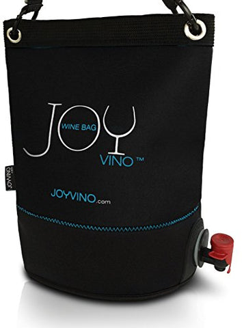 Wine Purse - BYOB Wine Dispenser 0.8 gal / 3L - Perfect Wine Bag For Party, Pool, Beach and Travel – Insulated Tote Keeps Content Chilled - With Removable Bladder, Adjust Strap and Non Leaking Spout