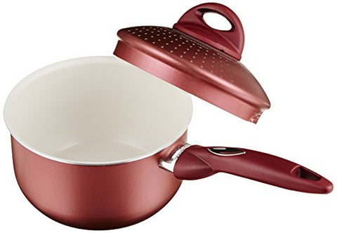 Pensofal Princess Passion Bioceramix Non-Stick Family Size PastaSi with Locking Lid, 1-1/2-Quart
