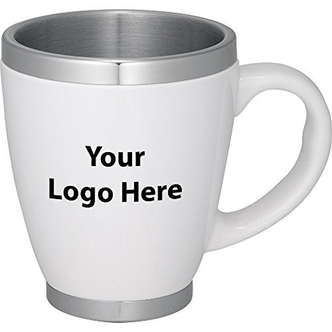 Collier 14 Oz. Ceramic Coffee Mug - 72 Quantity - $10.35 Each - PROMOTIONAL PRODUCT / BULK / BRANDED with YOUR LOGO / CUSTOMIZED