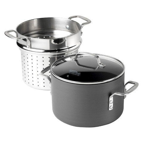 Calphalon Kitchen Essentials® 8qt Hard Anodized Pasta Pot Set