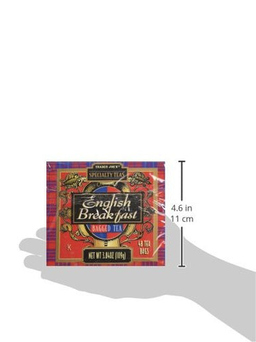 Trader Joe's English Breakfast Tea - 48 Count