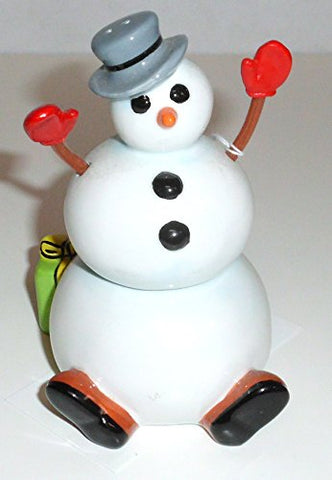 Silvestri - STACKABLE SNOWMAN Salt & Pepper Shaker set