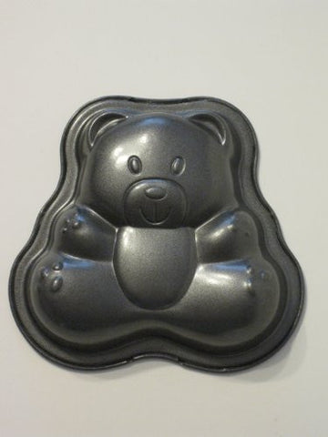 Bear Mini Nonstick Cake Pan 3 3/4 Inches Tall
