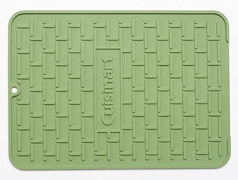 Cuisinart All Silicone Subway Tile Dish Dry Mat (16 x 12, Comfrey)