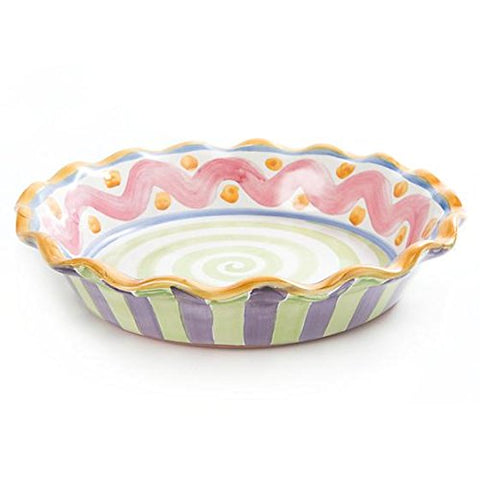MacKenzie-Childs Piccadilly Pie Dish